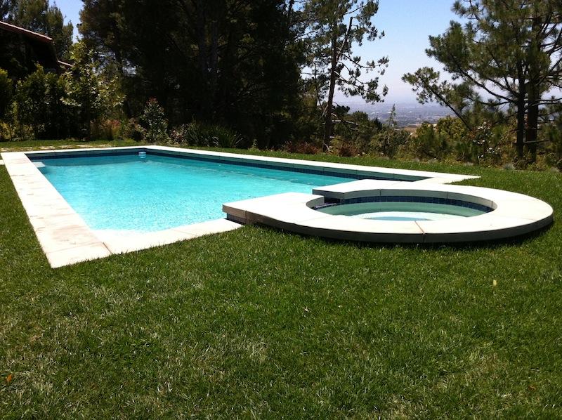 Los angeles pool design photos burbank studio city pasadena for Swimming pool supplies los angeles