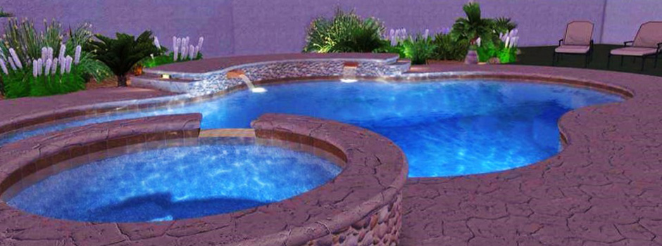 Pool builder los angeles burbank pasadena custom pool for Pool design los angeles