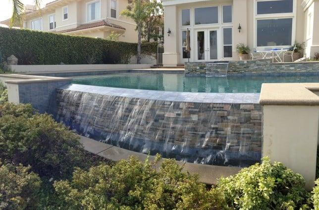 Los Angeles Pool Builder In La Burbank Custom Swimming Pools